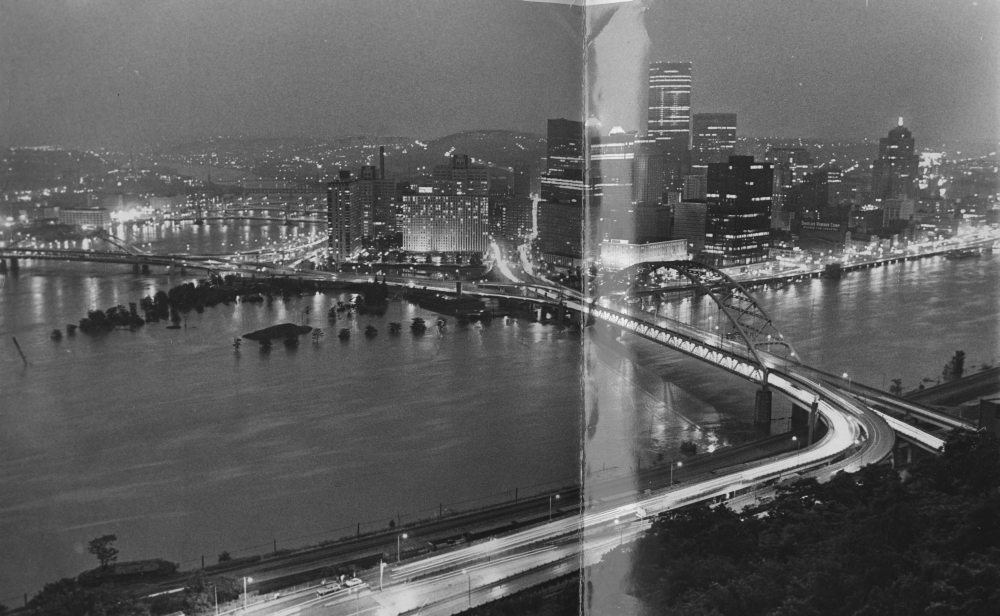 When hurricane agnes slammed soggy pittsburgh old pittsburgh photos