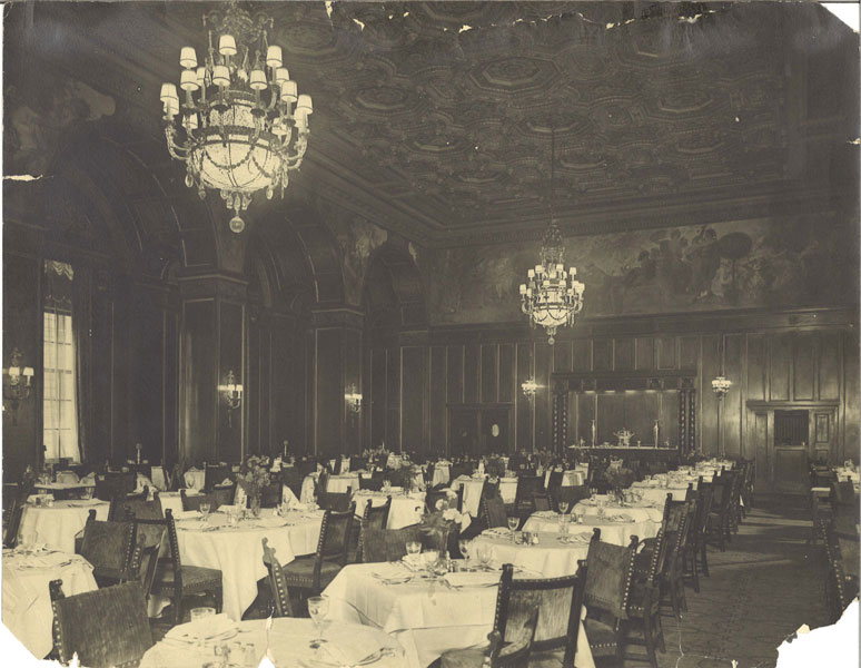 William Penn Hotel Lunch Room