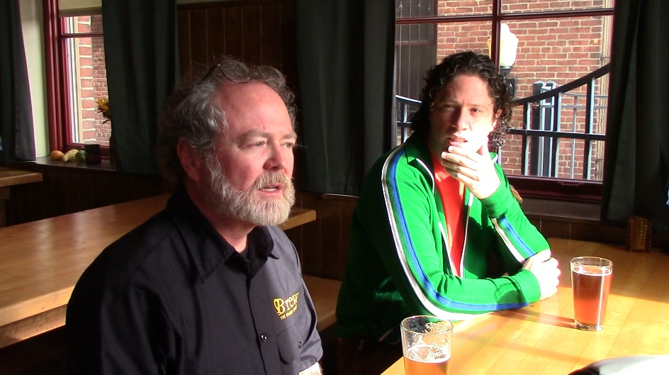 Joe McAllister and Matt Sherwin, two of the people behind the effort to bring Brew: The Museum of Beer to Pittsburgh.