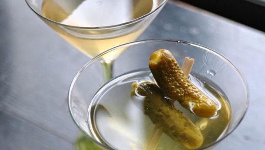 Pickle Martini