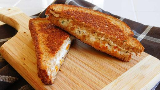 Spicy Swiss Cheese Melt