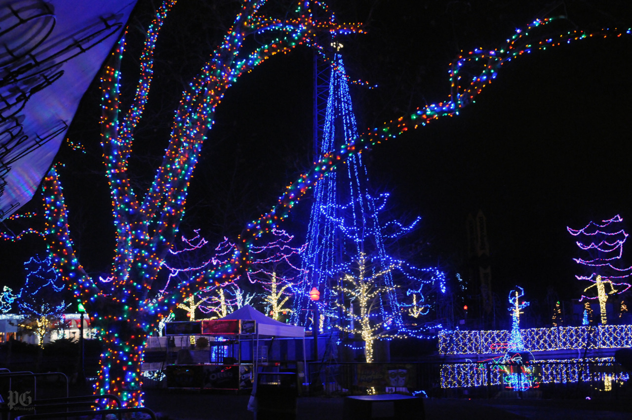 artsy lighting. Artsy Lighting. Kennywood Holiday Lights And Bike Racks Lighting T