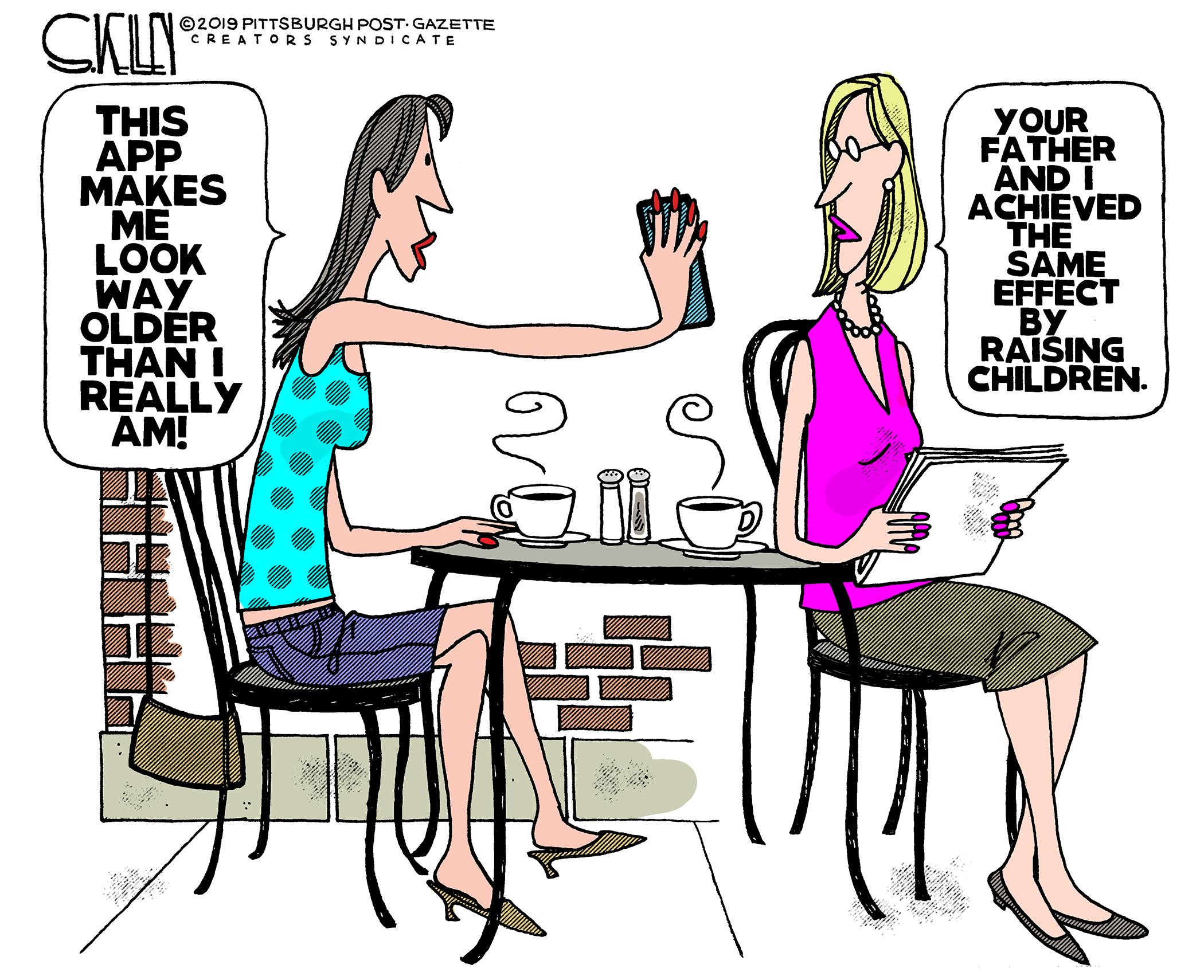 FaceApp – Steve Kelley | Pittsburgh Post-Gazette Editorial Cartoonist