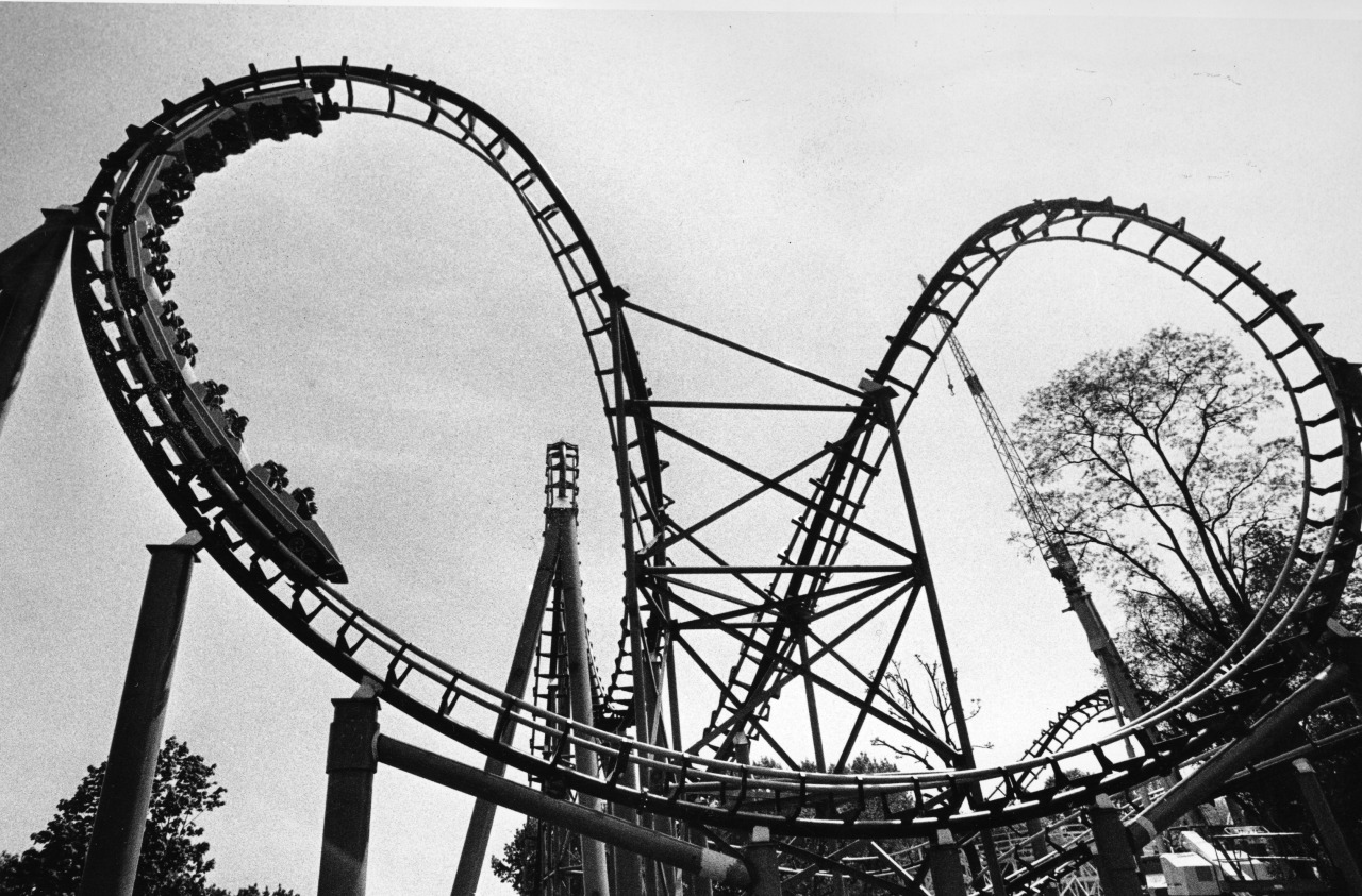 Kennywood\'s rides of the past