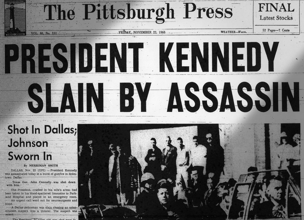 nov 22 1963 assassination of a president