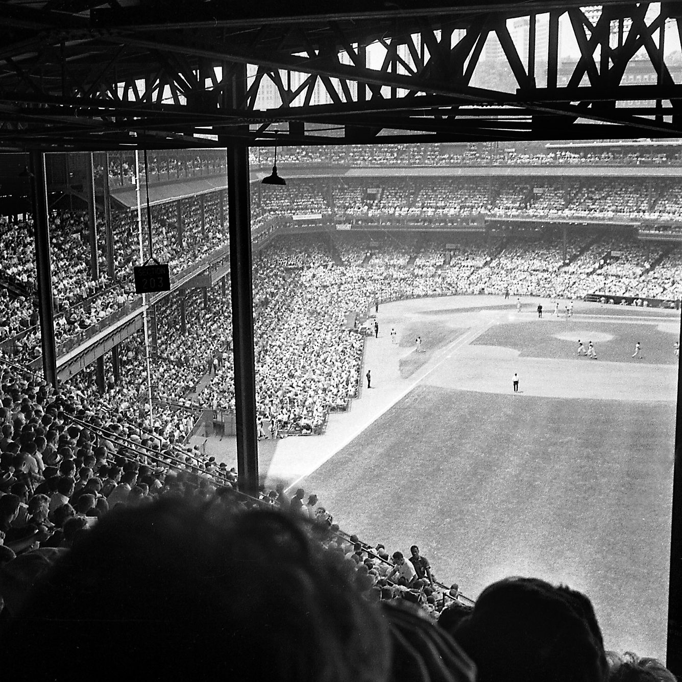 July 17, 1966: More than 35,000 fans jammed Forbes Field that day — a record for the season.